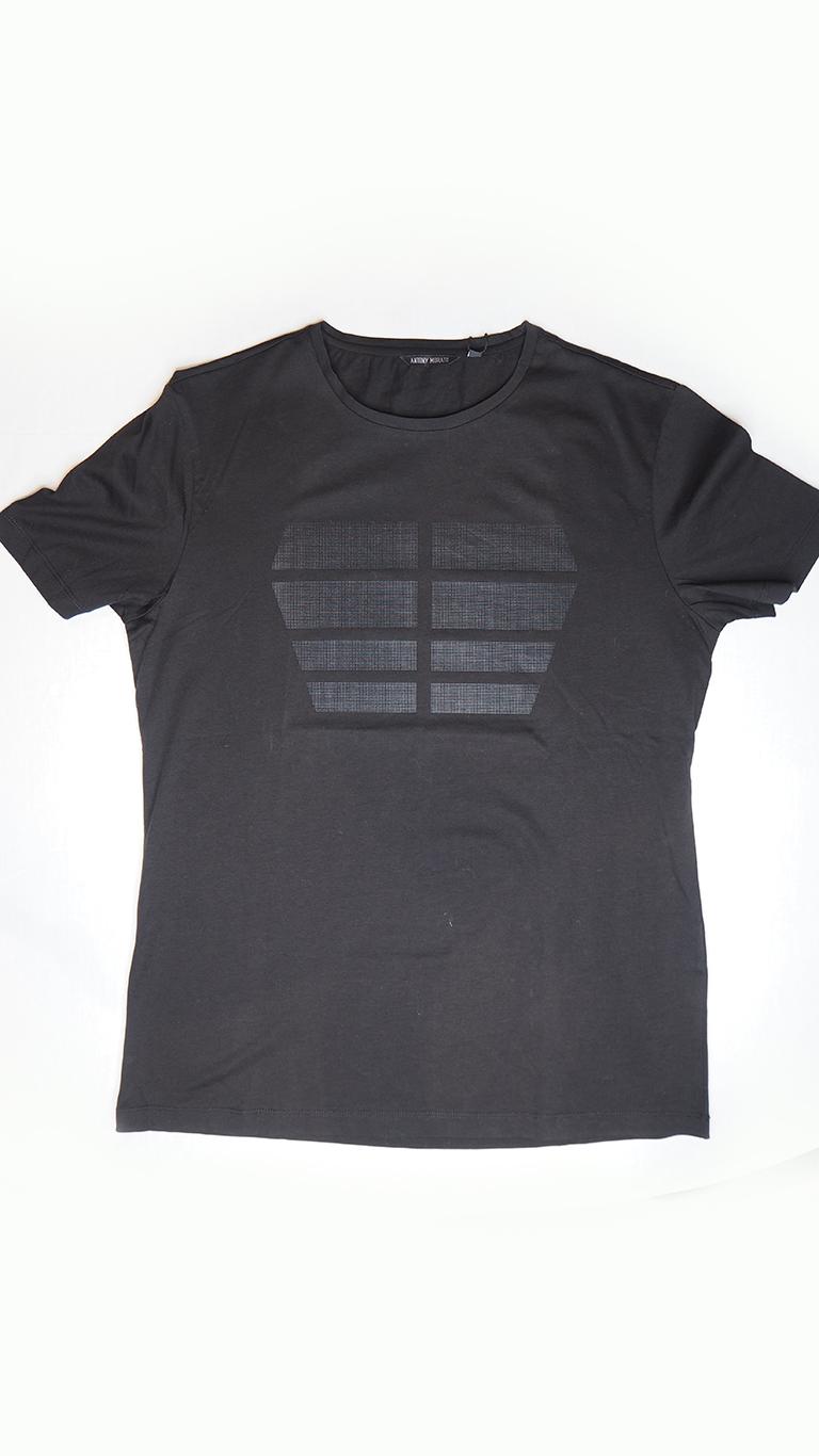 camiseta hombre negra Antony Morato